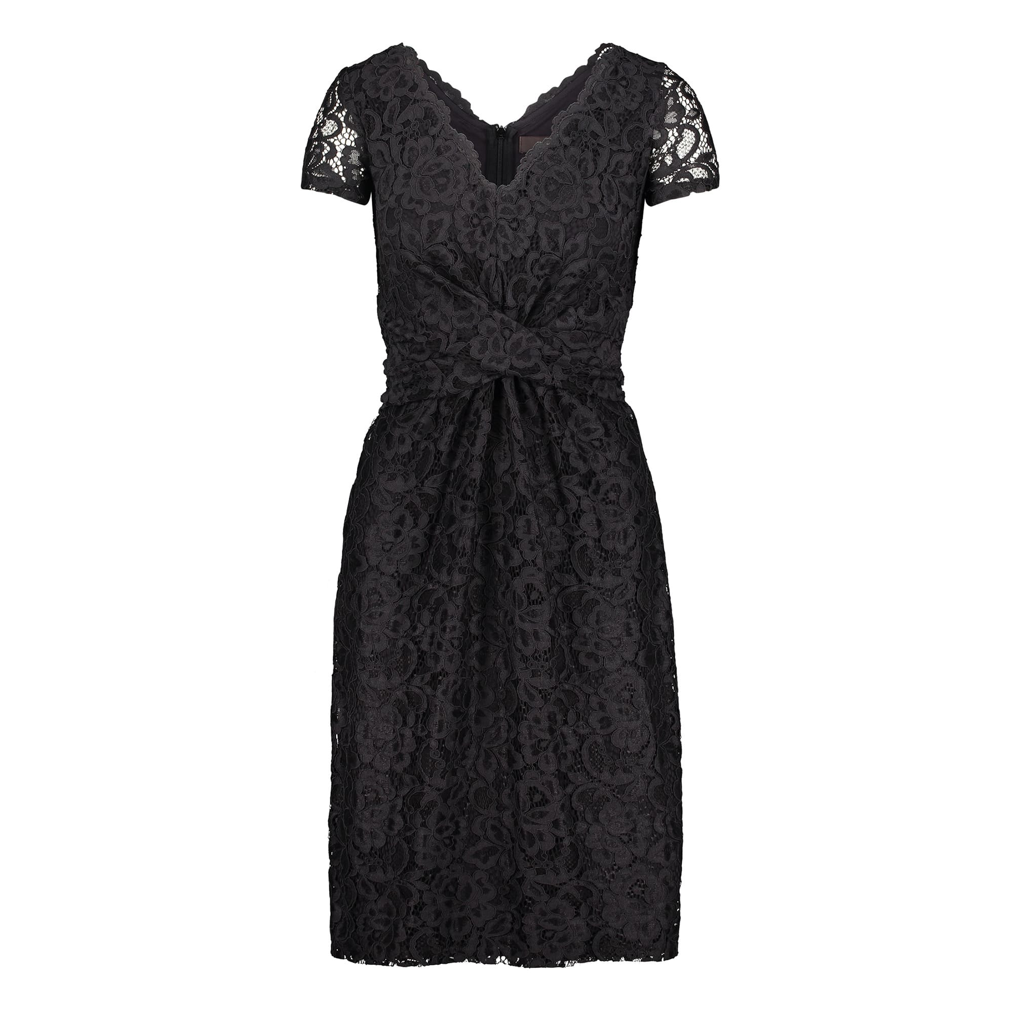kleid - fitted - spitze