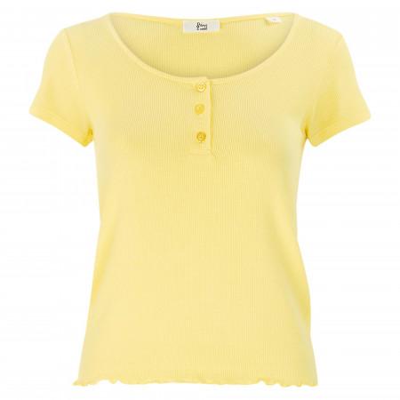 SALE % | 8 days a week | T-Shirt - Regular Fit - unifarben | Gelb online im Shop bei meinfischer.de kaufen