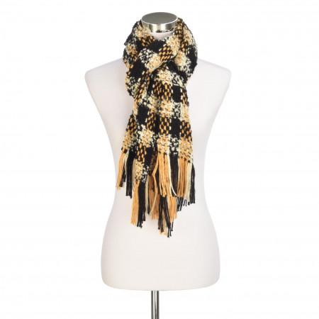 SALE % | 8 days a week | Schal - Muster | Gelb online im Shop bei meinfischer.de kaufen
