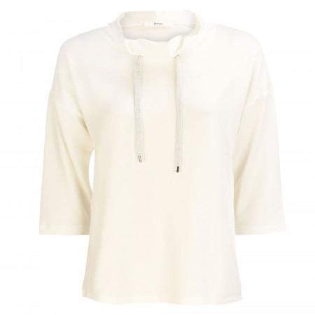 SALE %   8 days a week   Sweatshirt - Regular Fit - 3/4-Arm   Weiß online im Shop bei meinfischer.de kaufen