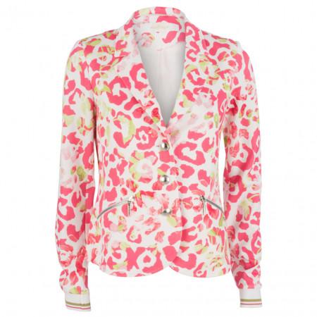 SALE % | Airfield | Blazer - Slim Fit - Flower-Print | Pink online im Shop bei meinfischer.de kaufen