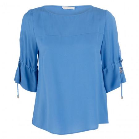 SALE %   Airfield   Bluse - Regular Fit - 3/4-Arm   Blau online im Shop bei meinfischer.de kaufen