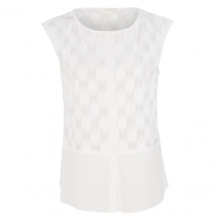 SALE % | Airfield | Shirt - Regular Fit - Satinstreifen | Weiß online im Shop bei meinfischer.de kaufen