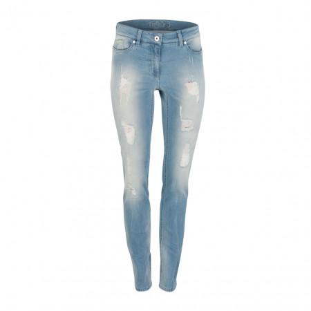 SALE % | Boss Casual | Jeans - Slim Fit - Destroyedpatches | Blau online im Shop bei meinfischer.de kaufen