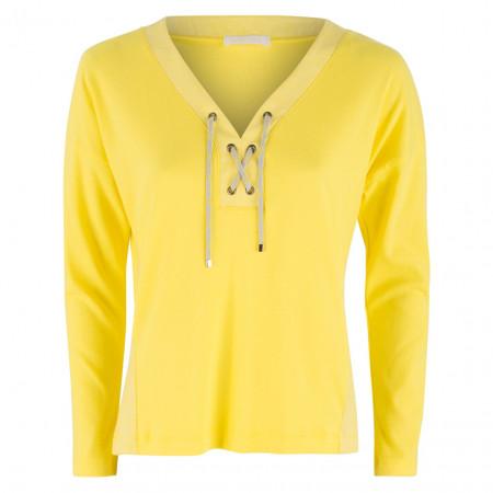 SALE % | Airfield | Shirt - fitted - Tunnelzug | Gelb online im Shop bei meinfischer.de kaufen
