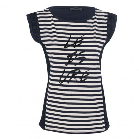 SALE % | Airfield | T-Shirt - fitted - Stripes | Blau online im Shop bei meinfischer.de kaufen