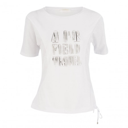 SALE % | Airfield | Shirt - Regular Fit - Logoprint | Weiß online im Shop bei meinfischer.de kaufen