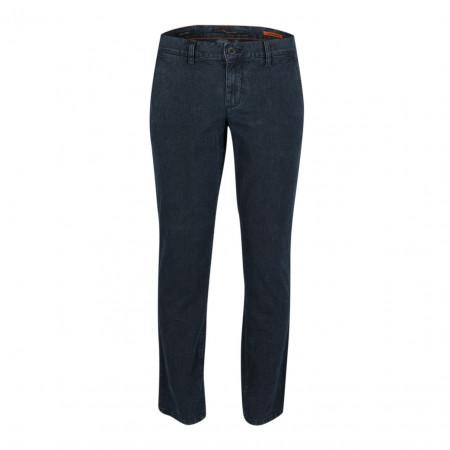 SALE % | Alberto | Chino - Slim Fit - Minimalprint | Blau online im Shop bei meinfischer.de kaufen