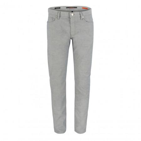 SALE %   Alberto   Chino - Slim Fit - Minicheck   Grau online im Shop bei meinfischer.de kaufen