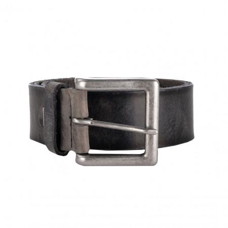 SALE % | Alberto | Ledergürtel - Silberschnalle | Grau online im Shop bei meinfischer.de kaufen