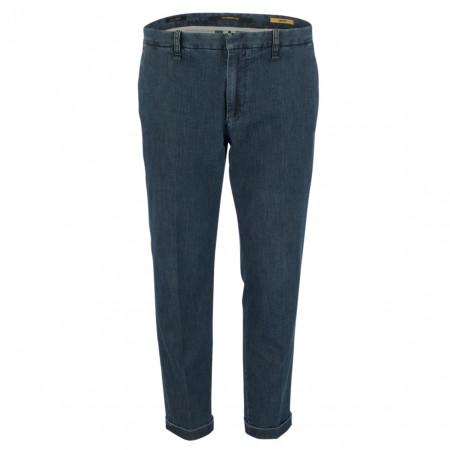 SALE % | Alberto | Chino - Modern Fit - cropped | Blau online im Shop bei meinfischer.de kaufen