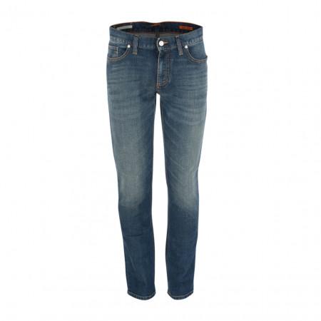 SALE % | Alberto | Jeans - Regular Slim Fit - 5 Pocket | Blau online im Shop bei meinfischer.de kaufen