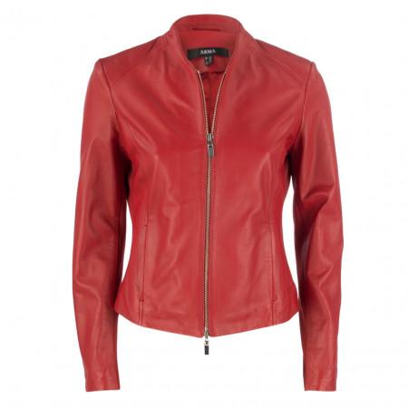 SALE % | ARMA | Lederjacke - fitted - Zipper | Rot online im Shop bei meinfischer.de kaufen
