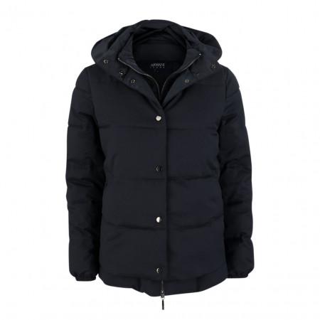 SALE % | Armani Jeans | Steppjacke - Regular Fit - Double Face-Optik | Blau online im Shop bei meinfischer.de kaufen