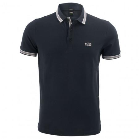 SALE % | Boss Athleisure | Poloshirt - Modern Fit - unifarben | Blau online im Shop bei meinfischer.de kaufen