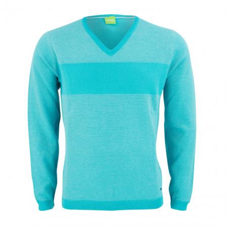 SALE % | Boss Casual | Pullover - Vams 10193890 01 | Blau online im Shop bei meinfischer.de kaufen