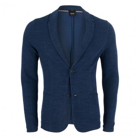 SALE % | Boss Casual | Sakko - Walentino - Jersey-Qualität | Blau online im Shop bei meinfischer.de kaufen