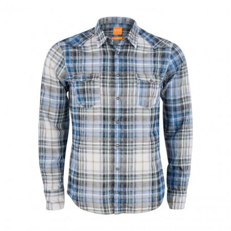 SALE %   Boss Casual   Hemd - Erodeo - Slim Fit   Blau online im Shop bei meinfischer.de kaufen