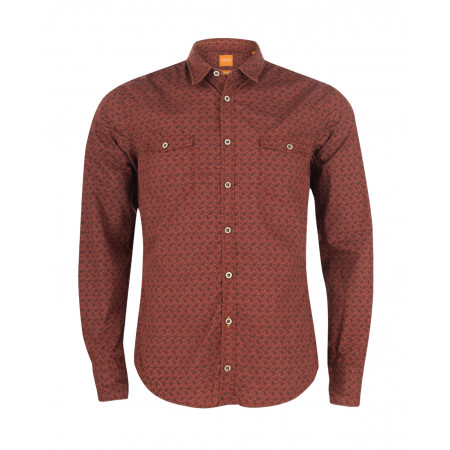 SALE % | Boss Casual | Hemd mit Paisleymuster | Rot online im Shop bei meinfischer.de kaufen