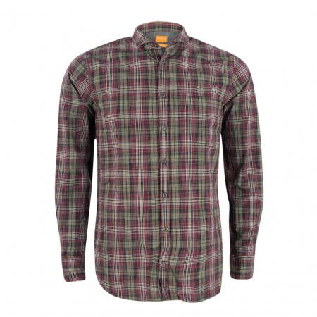 SALE % | Boss Casual | Freizeithemd - Cattitude - Slim Fit | Rot online im Shop bei meinfischer.de kaufen
