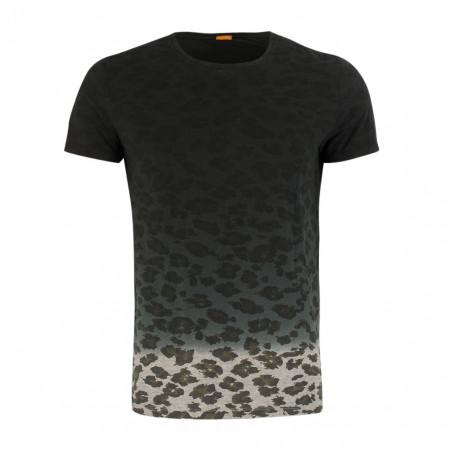 SALE % | Boss Casual | T-Shirt - Regular Fit - Leo | Schwarz online im Shop bei meinfischer.de kaufen