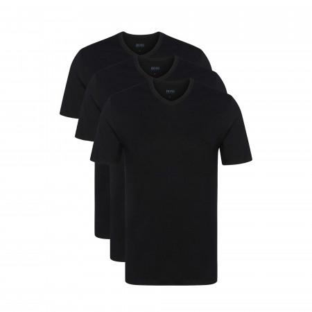 SALE % | Boss Business | Basicshirts - 3er Pack - V-Neck | Schwarz online im Shop bei meinfischer.de kaufen