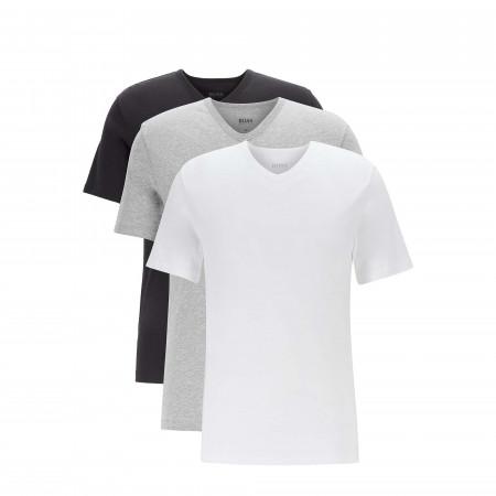 SALE % | Boss Business | Basicshirts - 3er-Pack - V-Neck | Bunt online im Shop bei meinfischer.de kaufen
