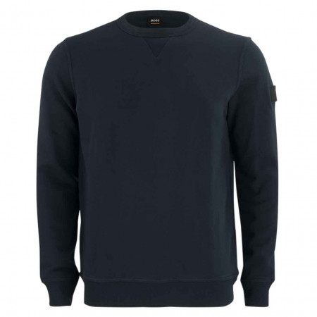 SALE % | Boss Casual | Sweater - Regular Fit - Walkup | Blau online im Shop bei meinfischer.de kaufen