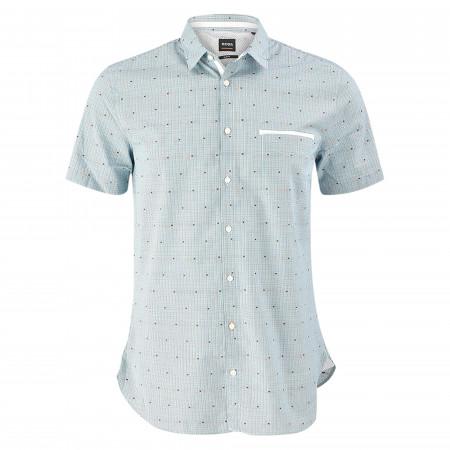 SALE % | Boss Casual | Hemd - Slim Fit - Kentkragen | Blau online im Shop bei meinfischer.de kaufen