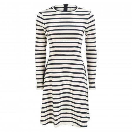 SALE % | Boss Casual | Kleid - Regular Fit - Detape | Weiß online im Shop bei meinfischer.de kaufen
