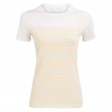 SALE % | Boss Casual | T-Shirt - Regular Fit - Stripes | Weiß online im Shop bei meinfischer.de kaufen