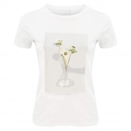 SALE % | Boss Casual | T-Shirt - Regular Fit - Tephoto | Weiß online im Shop bei meinfischer.de kaufen