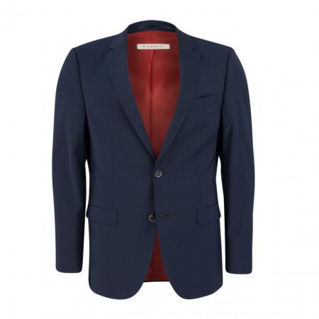 SALE % | Bugatti | Baukasten-Sakko - Modern Fit - Schurwolle | Blau online im Shop bei meinfischer.de kaufen
