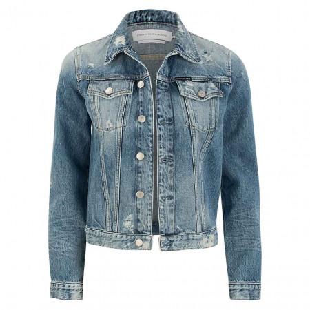 SALE % | Calvin Klein Jeans | Denimjacke - Regular Fit - Cleanline Trucker | Blau online im Shop bei meinfischer.de kaufen