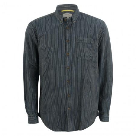 SALE % | camel active | Freizeithemd - Comfort Fit - Button Down | Blau online im Shop bei meinfischer.de kaufen