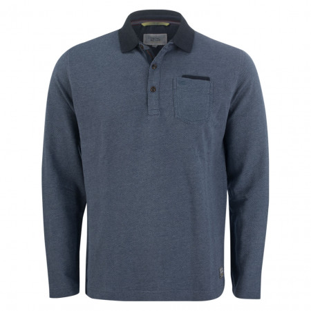 SALE % | camel active | Poloshirt - Modern Fit - Minicheck | Blau online im Shop bei meinfischer.de kaufen
