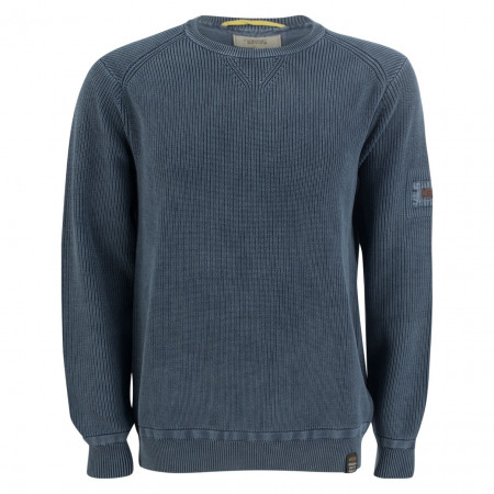 SALE % | camel active | Pullover - Comfort Fit - Crewneck | Blau online im Shop bei meinfischer.de kaufen