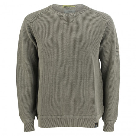 SALE % | camel active | Pullover - Comfort Fit - Crewneck | Oliv online im Shop bei meinfischer.de kaufen