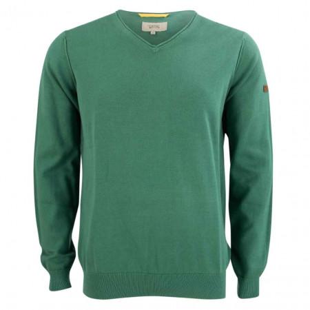 SALE % | camel active | Pullover - Regular Fit - V-Neck | Grün online im Shop bei meinfischer.de kaufen