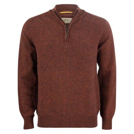 SALE % | camel active | Pullover - Regular Fit - Zipper | Rot online im Shop bei meinfischer.de kaufen