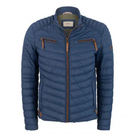 SALE % | camel active | Steppjacke - Modern Fit - Stehkragen | Blau online im Shop bei meinfischer.de kaufen
