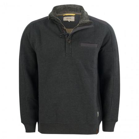 SALE % | camel active | Sweater - Regular Fit - Teddykragen | Grau online im Shop bei meinfischer.de kaufen