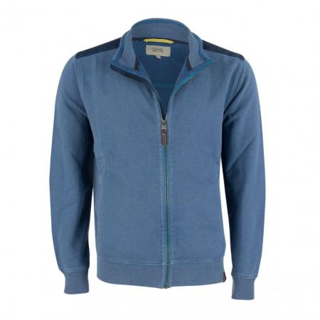 SALE % | camel active | Sweatjacke - Regular Fit - Zipper | Blau online im Shop bei meinfischer.de kaufen