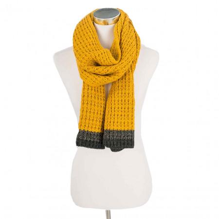 SALE % | camel active | Strickschal - Stripe | Gelb online im Shop bei meinfischer.de kaufen