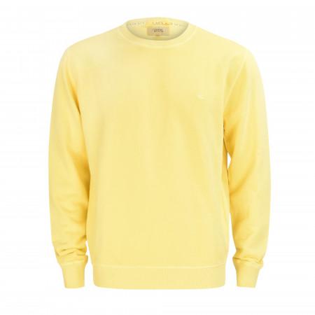 SALE % | camel active | Sweatshirt - Regular Fit - Crewneck | Gelb online im Shop bei meinfischer.de kaufen