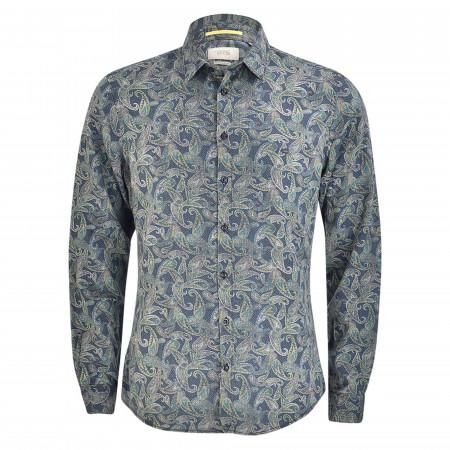 SALE % | camel active | Freizeithemd - Modern Fit - Kentkragen | Blau online im Shop bei meinfischer.de kaufen