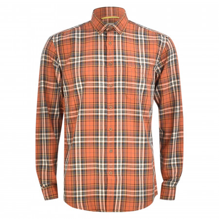 SALE % | camel active | Freizeithemd - Regular Fit - Button-Down | Orange online im Shop bei meinfischer.de kaufen