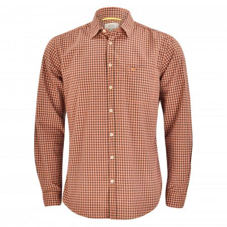 SALE % | camel active | Freizeithemd - Regular Fit - Kentkragen | Orange online im Shop bei meinfischer.de kaufen