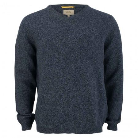 SALE % | camel active | Pullover - Regular Fit - Melange | Blau online im Shop bei meinfischer.de kaufen