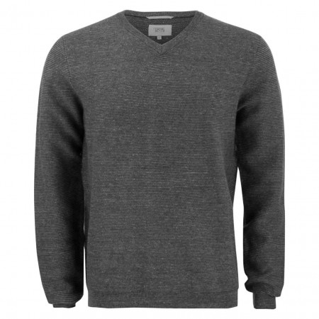 SALE % | camel active | Pullover - Regular Fit - V-Neck | Grau online im Shop bei meinfischer.de kaufen